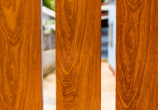 Beautiful  wood door Stock Images