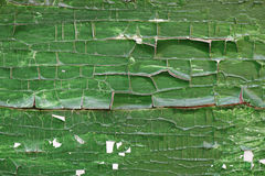 Beautiful wood texture, cracks, old paint Stock Images
