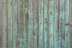 Beautiful wood texture from old wooden boards and weathered paint royalty free stock photography