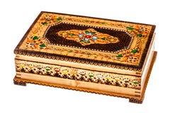 Beautiful wooden box Stock Photography