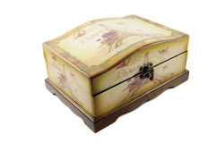 Beautiful wooden box Royalty Free Stock Photo