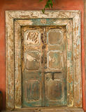Beautiful wooden door Royalty Free Stock Photo