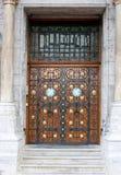 Beautiful wooden door Stock Images
