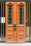 Beautiful wooden door Stock Photos