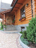 Beautiful wooden home Stock Photography