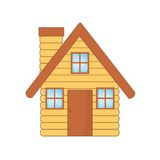 Beautiful wooden house Royalty Free Stock Images