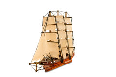 Beautiful wooden ship Royalty Free Stock Image