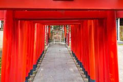 Beautiful wooden shrine Royalty Free Stock Photo