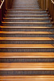 Beautiful wooden staircase Royalty Free Stock Photo