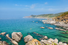 Beautiful Woolacombe Coastline Royalty Free Stock Photography