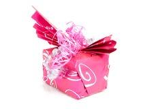 Beautiful wrapped gift Stock Photo