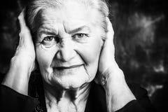 Beautiful wrinkles Royalty Free Stock Image