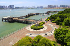 The beautiful wuyuan bay park Royalty Free Stock Photography