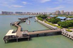 Beautiful wuyuan bay park of amoy Stock Photo