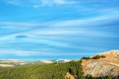 Beautiful Wyoming Landscape Stock Image