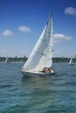 Beautiful yacht royalty free stock photo