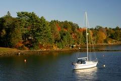 Autumn at Anchor stock photo