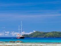 Beautiful yacht Royalty Free Stock Photos