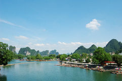 Beautiful Yangshuo Royalty Free Stock Images