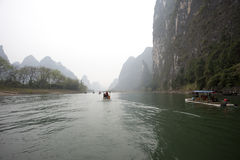 Beautiful Yangshuo scenery,China Royalty Free Stock Photos