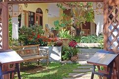 Beautiful yard Stock Images