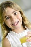 Beautiful 6-year-old girl Royalty Free Stock Photo