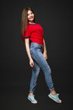 A beautiful 13-years old girl Royalty Free Stock Photos