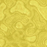 Beautiful yellow abstract seamless texture of plastic glass Stock Photography