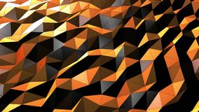 Beautiful Yellow Brown Abstract Motion Background Seamless Looping stock video