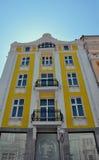 Beautiful yellow house Stock Photography