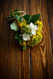 Beautiful yellow summer flowers Stock Photos