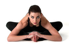 Beautiful Yoga Model Royalty Free Stock Photos