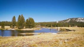 Beautiful yosemite national park in california stock video footage