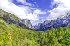 Beautiful Yosemite Royalty Free Stock Images