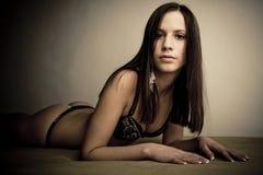 Beautiful youg girl Royalty Free Stock Photography