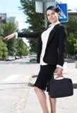 Beautiful youn business woman Royalty Free Stock Photo