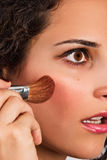 Beautiful young adult make up. Beautiful female young adult make up Stock Photography