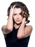 Beautiful young adult woman Stock Photos