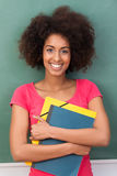 Beautiful young African American student Stock Image