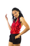 Beautiful young african-american woman Royalty Free Stock Photos