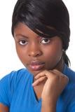Beautiful young african woman Stock Photos
