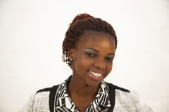 Beautiful young African woman portrait Royalty Free Stock Photo