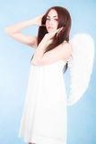 Beautiful young angel Royalty Free Stock Images