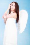 Beautiful young angel Stock Photos