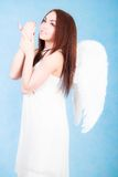 Beautiful young angel Royalty Free Stock Photos