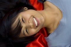 Beautiful, young asian Royalty Free Stock Photo