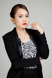 Beautiful young Asian business woman Royalty Free Stock Photography