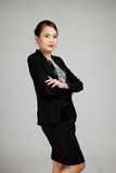 Beautiful young Asian business woman Stock Images