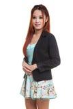 Beautiful young Asian business woman Stock Photos