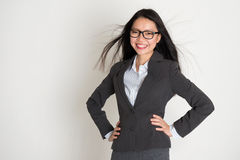 Beautiful young Asian business woman Royalty Free Stock Image
